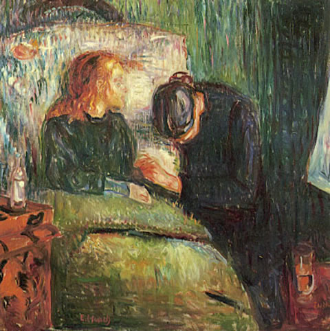 Edvard Munch - The Sick Child, 1896