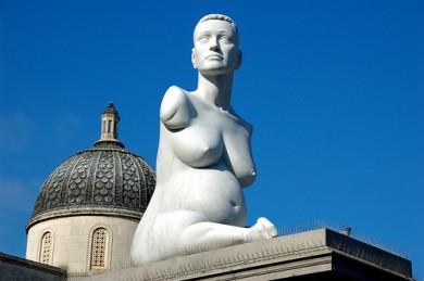 Estatua de Allison Lapper en Trafalgar Square