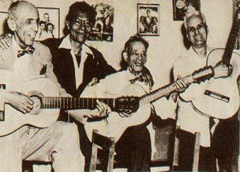 La Trovacubana: Alberto Villalón, SindoGaray, Manuel Corona y Rosendo Ruiz