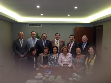 Foto de Reunion del Gilea celebrada en la reunion de radla Lima 2015