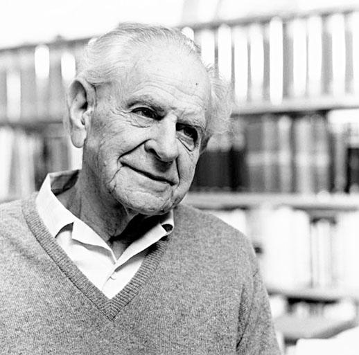 karl popper Karl popper (karl raimund popper viena, 1902 - londres, 1994) filósofo austriaco estudió filosofía en la universidad de viena y ejerció más tarde la docencia en la de canterbury (1937-1945) y en la london school of economics de londres (1949-1969.